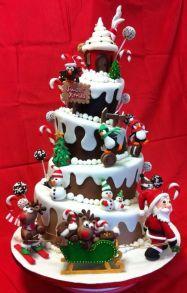 06341da27427ea81dc5a393ce0b95483--xmas-cakes-holiday-cakes