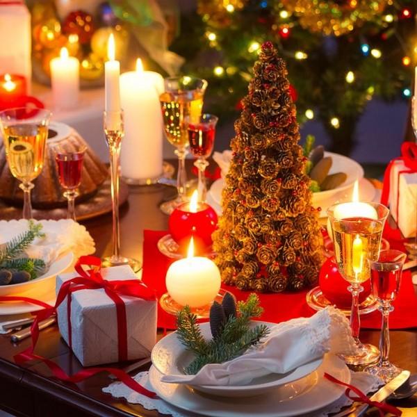 table-noel-decoration-classique