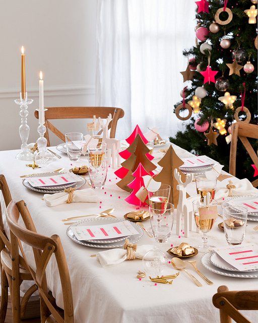 table-noel-moderne-deco
