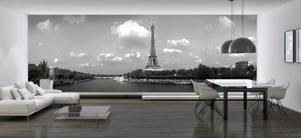papier-peint-panoramique-tour-eiffel-nb