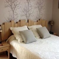 ATELIER DECO : une tête de lit original à faire soi-même.