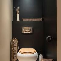 10 idées déco pour des toilettes design