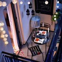 Des idées pour aménager un petit balcon