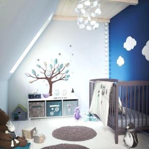 deco-chambre-bebe-chambre-pour-bacbac-garaon-tendance-bleue-idee-deco-chambre-bebe-ikea