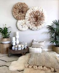 Bamileke-Feather-Juju-Hat-for-home-decoration_1